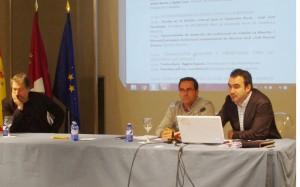 Jornada Industrias Culturales, José Juan Fernández en la ponencia