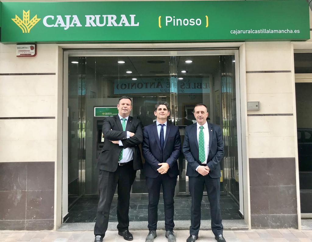 Caja rural castilla la mancha abre oficinas en pinoso y for Caja rural bilbao oficinas
