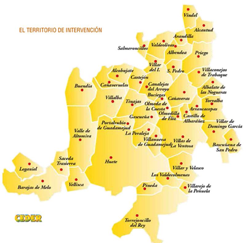 Ceder Alcarria Conquense Informa Y Asesora A Ayuntamientos Sobre Ayudas Iti Agroclm