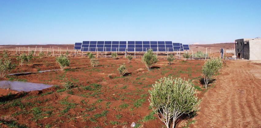 instalaciones fotovoltaicas en el campo