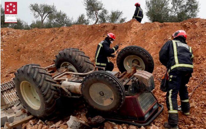 accidente sector agrario